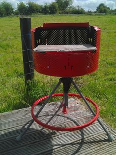 I Love This Idea Using An Old Washer Tub To Make A Grill I