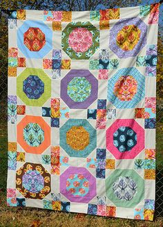 detail, Fandango Quilt by Tula Pink | OZ quilts | quilt ... : quilts by the oz - Adamdwight.com