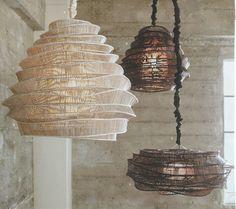 Roost Bamboo Cloud Chandeliers #modish #lighting