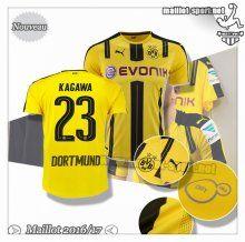 Maillots-Sport: Le Nouveau Maillot Du Dortmund BVB Kagawa 23 Domicile 2016 2017
