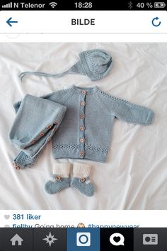 Hentesett gutt Baby Boy Outfits, Kids Outfits, Baby Barn, Knitting For Kids, Diy And Crafts, Maternity, Children, Sweaters, Clothes
