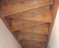 Simple banc avec planches de palettes pour votre jardin for Escalier japonais lapeyre