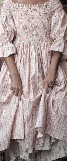 shabby chic ..dress and..petticoats