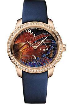 Ulysse Nardin - Jade Rose Gold Watch 3106-125B/LIONFISH