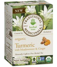 Traditional Medicinals Organic Turmeric Tea 16 Bags - Plum Market