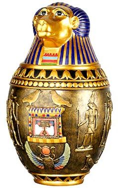 Egyptian Revival Canopic Jar