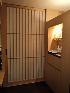We stayed The Capitol Hotel Tokyu. This Shoji screen was the first thing I saw when I entered the room. I fell in love with my room!