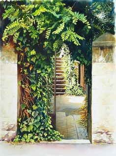 Beni Gassenbauer, Secret: watercolor, 57x76cm on ArtStack #beni-gassenbauer #art