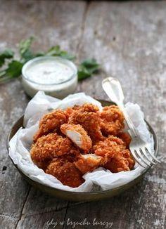 Nuggetsy z piekarnika Baby Food Recipes, Healthy Recipes, Tandoori Chicken, Poultry, Food And Drink, Menu, Ethnic Recipes, Impreza, Essen