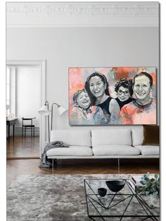 Self-taught and creative painter from Norway: I love creating unique original paintings, especially custom portraits of people and animals. Painting Portraits, Portrait Art, Fun Art, Cool Art, Interior Painting, Abstract Backgrounds, Monet, Scandinavian, Original Paintings