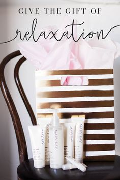 Anytime is the right time for relaxation. Pamper yourself or someone you love…