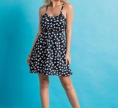 Vestido de Alcinha Estampado - Vestidos   DMS Boutique