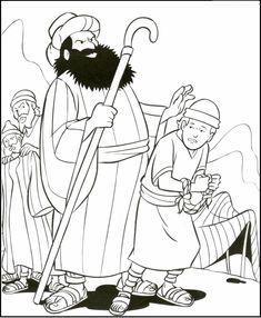 Joseph's Slavery at Potiphar's House (Genesis 39