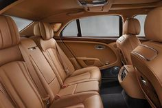 2017 Bentley Mulsanne Facelift: The new 2017 Bentley Mulsanne facelift was unveiled this week, bringing a new extended wheelbase version. The 2017 Bentley Mul Car Interior Upholstery, New Bentley, Automobile, Aircraft Interiors, Car Interiors, Bentley Motors, Bentley Mulsanne, Signature, Geneva Motor Show