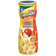 I'm learning all about Gerber Puffs Apple Cinnamon Puffed Grains With Real Fruit at @Influenster! @GerberLife