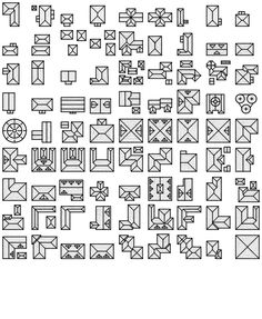 Fantasy Map Icons symbols map cartography