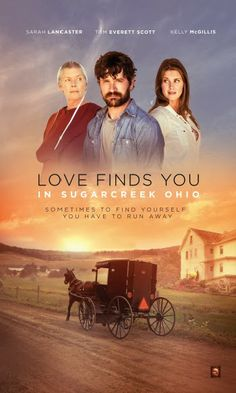 """Its a Wonderful Movie - Your Guide to Family Movies on TV: Sarah Lancaster stars in the UP Original Movie """"Love Finds You in Sugarcreek, Ohi..."""