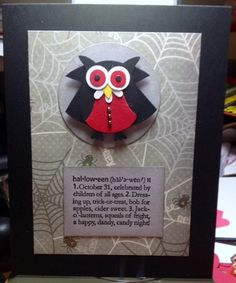 F4A140 crawls to SC20 by palparis - Cards and Paper Crafts at Splitcoaststampers  Stampin' Up!