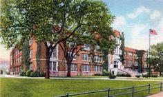 Winona State Teachers College, Winona Minnesota, 1936 www.visitwinona.com
