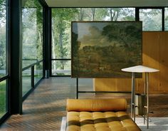 The Glass House by Philip Johnson