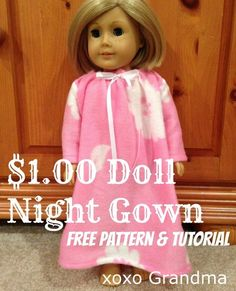Free pattern: Doll n