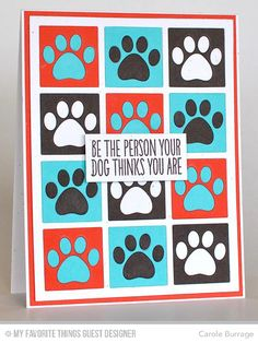 You Make My Tail Wag, Grid Cover-Up Die-namics, Pet Accents - Carole Burrage  #mftstamps