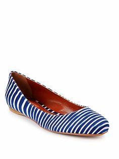 Missoni - Nautical Striped Ballet Flats - Saks.com
