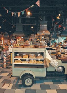 Recipease | London  Great idea for a mobile bakery!