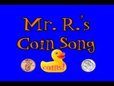 Coin Value Song- Pennies, Nickels, Dimes, Quarters! recommended by Charlotte's Clips