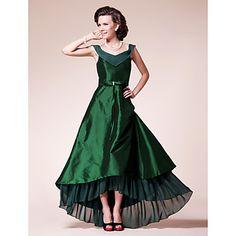 HAVILAH - Vestido de Damas em Chifon e Tafetá – BRL R$ 277,97