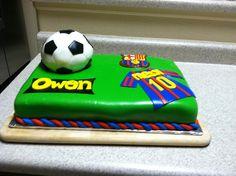 Soccer birthday cake 2012