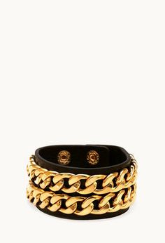 Jewellery trend: Leather cuffs