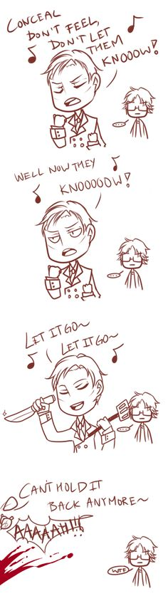 ♪Let It Go♪ ||| Hannibal Version by deadalphakids on Tumblr