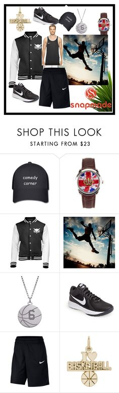 """Snapmade 7/ 6"" by fatimazbanic ❤ liked on Polyvore featuring PBteen, NIKE, Rembrandt Charms, men's fashion and menswear"