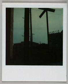 Walker Evans, Train Crossing (No Flash), 1973 or 1974