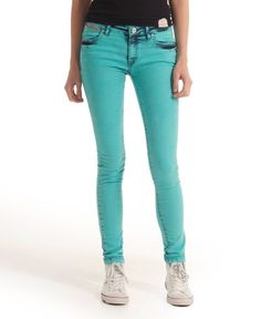 Superdry powdered slim denim
