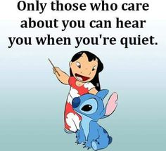 Cute Animal Quotes, Funny Animal Jokes, Phone Wallpaper Quotes, Cartoon Wallpaper Iphone, Funny True Quotes, Funny Memes, Lilo And Stitch Memes, Disney Hairstyles, Stich Quotes