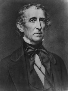 John Tyler  Took Office - April 4, 1841  Left Office - March 4, 1845. The tenth president, whig party until Sept. 1841, after that he had no party. He had no vice president.