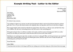 letter to the editor example search results write letter letter to the editor