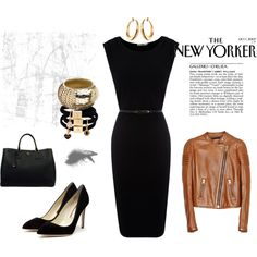 Black Lady, created by tamaralina on Polyvore