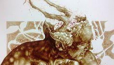 Vincent Castiglia - Blood painting