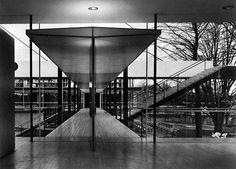 Pabellón de Alemania en la Exposición de Bruselas, Egon Eiermann y Sep Ruf 1958