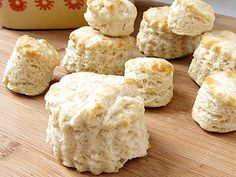 Biscuits - grated butter, frozen