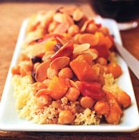Butternut-Squash Couscous - North African Recipes - Middle Eastern Recipes - Chickpea Recipes - Beans Recipes - Delish.com