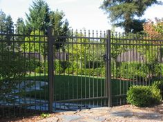 Bronze Iron Fence