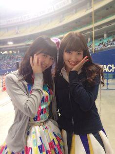 Twitter / sumire_princess: 全国握手会in名古屋ありがとうございました!!今日はチーム埼玉レーンだったよ〜新曲「ハートエレキ」のセンターこじまさんとの2ショット❤️すーにゃん https://twitter.com/sumire_princess/status/394482422835707904