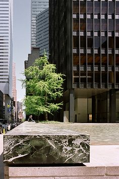 The Seagram Building in NYC by Mies van der Rohe. Photo by Hagen Stier.