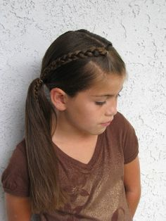 Fun easy do #hair #girls #braids.