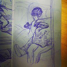 escaping kid (subway)