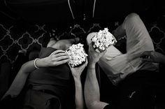 love shoot: a box of popcorn & the silver screen {claire & dale}